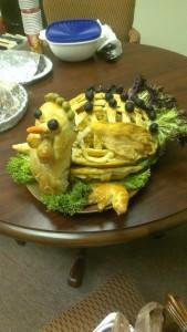 Bread Turkey 2
