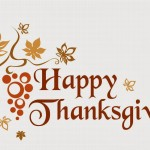 Happy Thanksgiving!!! (November 24th – 28th)