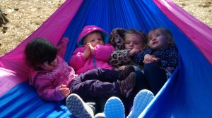 Toddlers in the Hammock