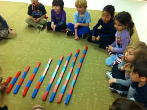 small counting rods
